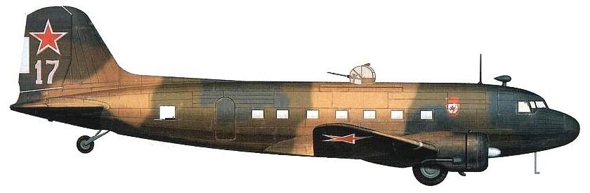 Самолёт Ли-2