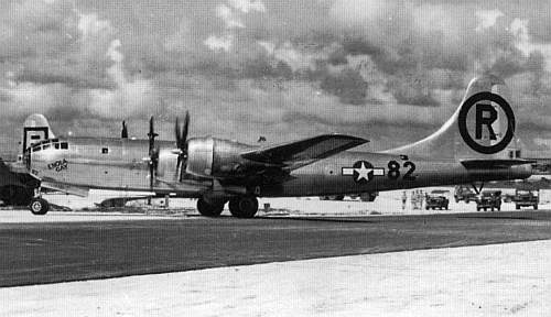 Американский бомбардировщик Boeing B-29 Superfortress