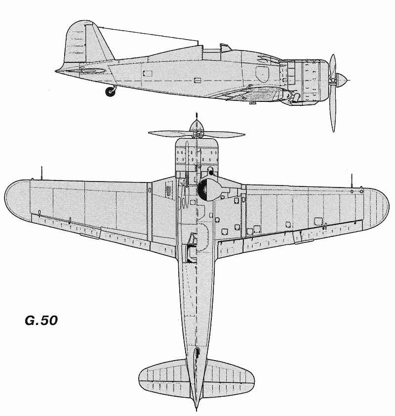 Схемы и чертежи Fiat G50