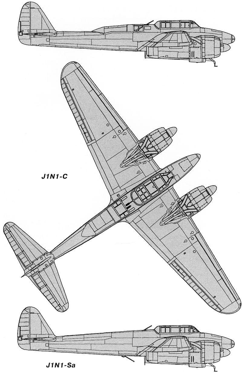 Чертежи и схемы самолёта.