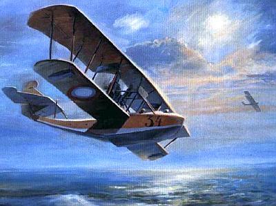 Боевой вылет гидросамолёта М-9