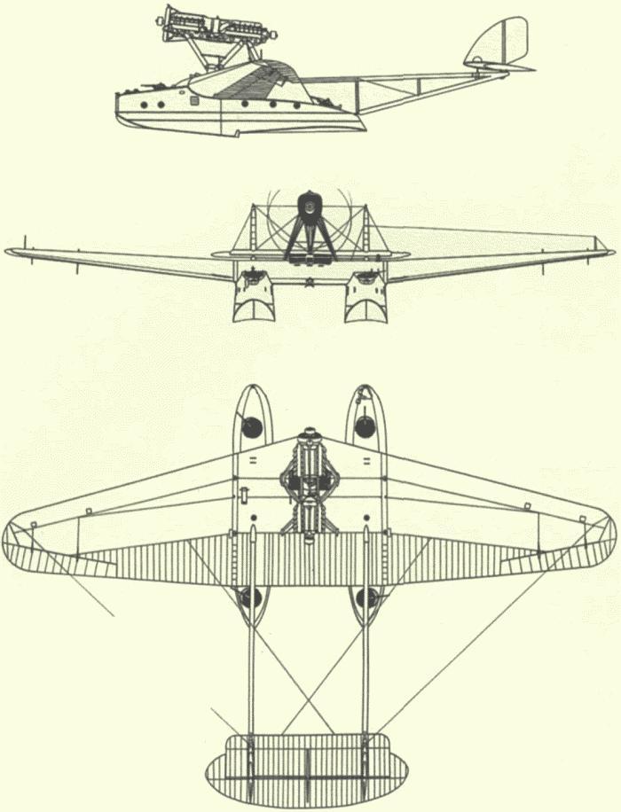Схемы и чертежи самолёта