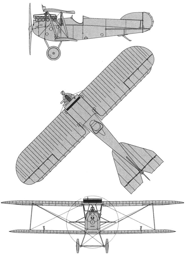 Схемы и чертежи самолета