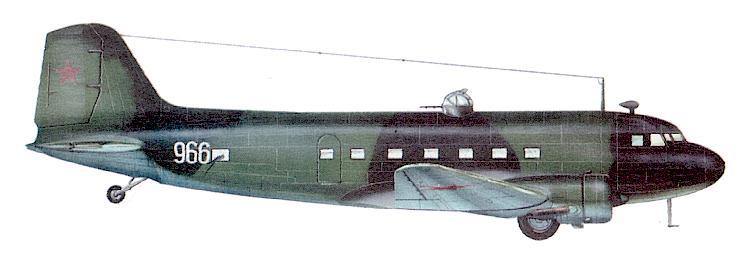 Самолёт ДС-3 (Ли-2) был основной машиной советской транспортной авиации